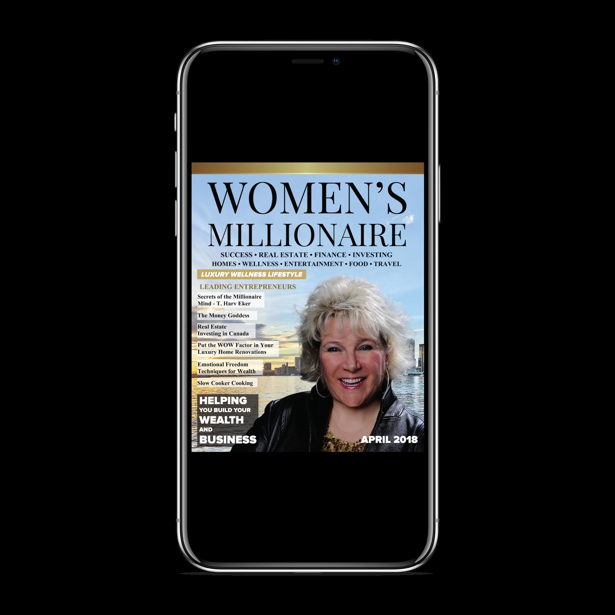 Mobile - Women's Millionaire Magaziine