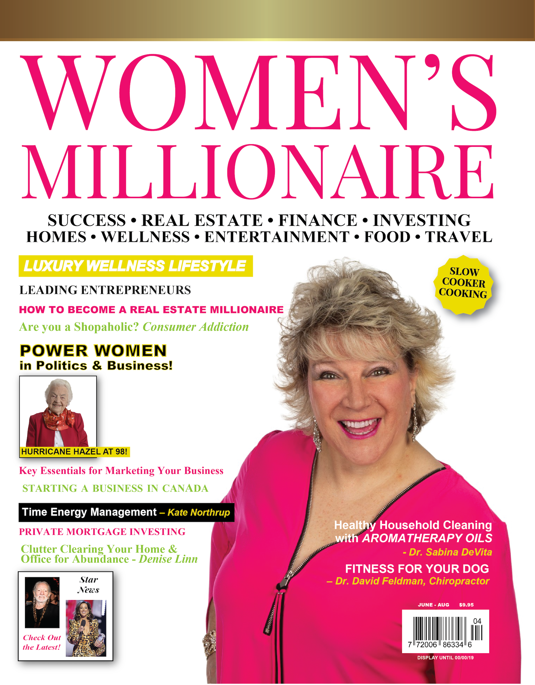 Womens Millionaire Summer 2019 cover